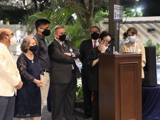 Inauguración de la exposición pictórica Latidos de Guayaquil
